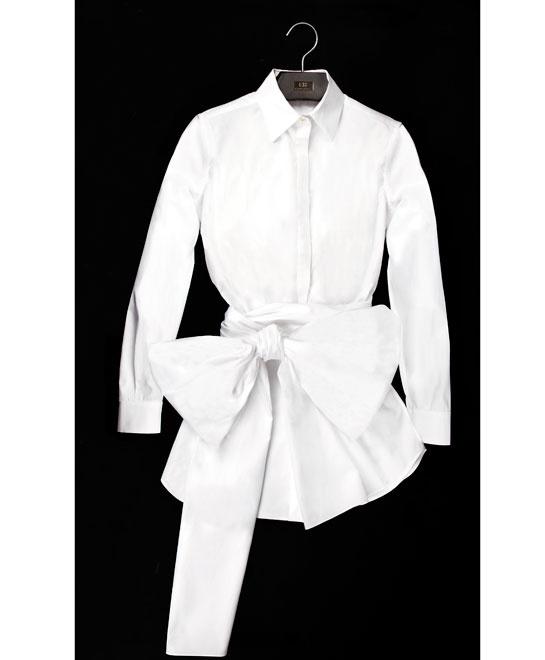 La camisa blanca de carolina herrera for Carolina herrera white shirt collection